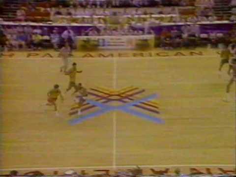 Brasil x EUA - Basquete - Final do Pan 1987 - NA ÍNTEGRA - PARTE 09