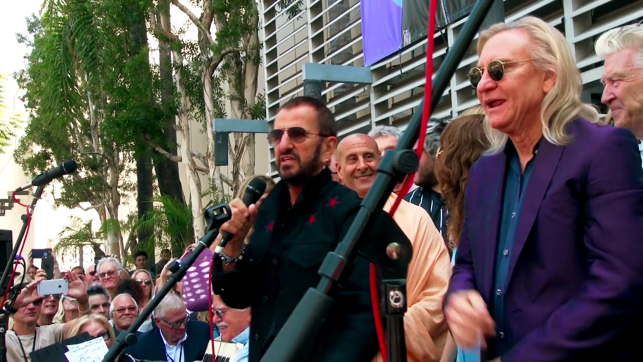 Ringo Starrs 2017 Birthday Peace Love Celebration In Los Angeles
