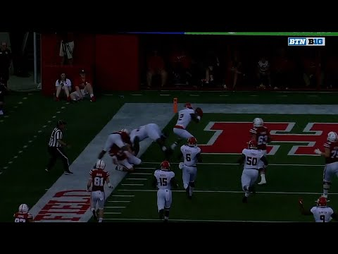 Kiy Hester 33-YD Pick Six vs. Nebraska