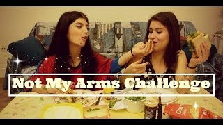 Not My Arms Challenge | Ώρα για φαγητό || fraoules22