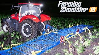 Nocne usuwanie chwastów - Farming Simulator 19 | #91