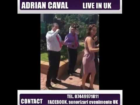 Adrian Caval Live in UK, Nunta Botez Birmingham Londra
