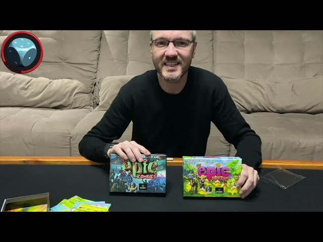 Tiny Epic Zombies e Dinossaurs - Unboxing