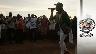 The South Sudanese Reggae Star Singing for Peace