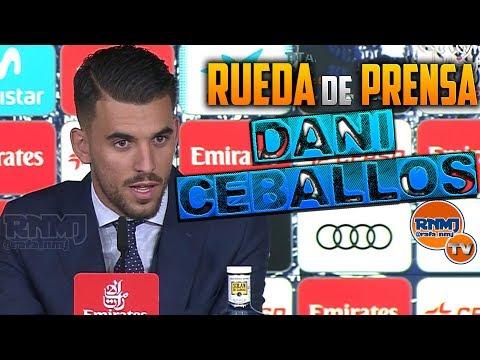 Rueda de prensa de DANI CEBALLOS NUEVO JUGADOR Real Madrid (20/07/2017) HD