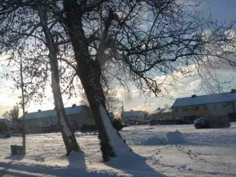 Clonbullogue in Winter, by John, Rebecca and Chelsea