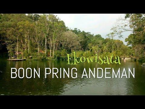Boon Pring Andeman Ekowisata Di Turen Malang Youtube