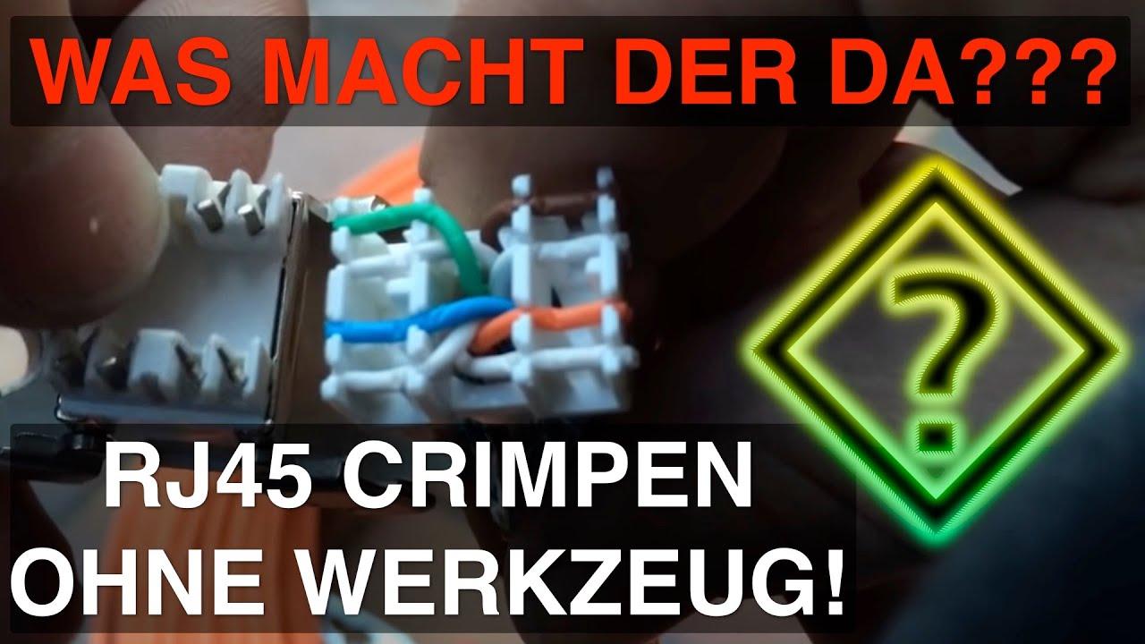 montage rj45 keystone jack modul cat 6a ftp 500 mhz 10 gbit [ 1280 x 720 Pixel ]
