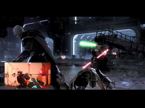 "Star Wars The Old Republic    ""The Return"" - Behind The Scenes - Motion Capture"