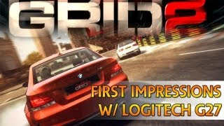 [TTB] GRID 2 Gameplay PS3 w/ Logitech G27 -  First Impressions and Thoughts! - Liking the Handling!