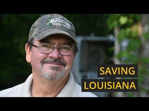 Saving the coastline of southern Louisiana