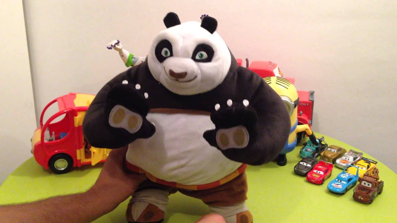 peluche kung fu panda anim youtube. Black Bedroom Furniture Sets. Home Design Ideas
