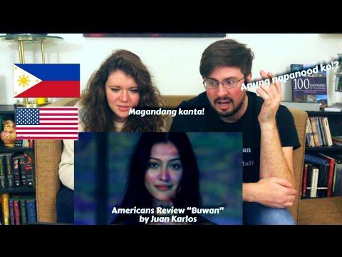 "Americans React to OPM-""Buwan"" by Juan Karlos|| @Puting Pinoy"
