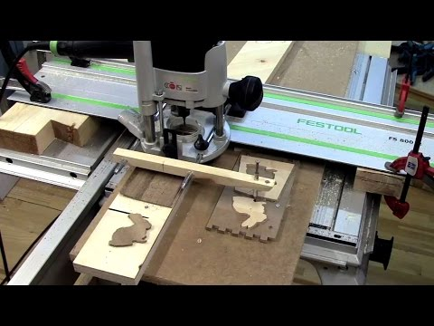 ⚙ DIY Router Copy Carver with Festool CMS