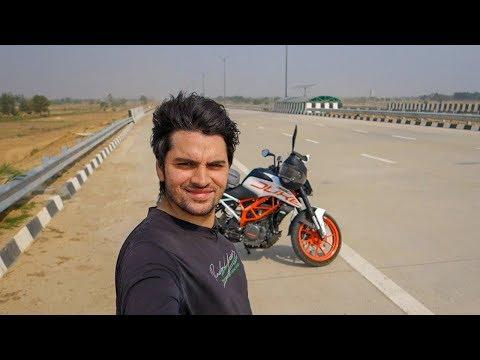 First Ride on Eastern Peripheral Expressway ! #Vlog 1
