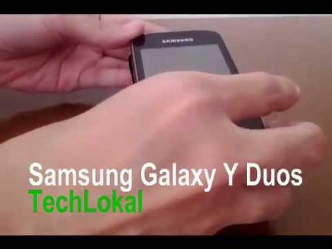 Samsung Galaxy Y Duos (dual-SIM, dual-standby) Video