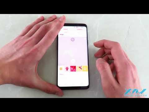 Как установить фото на контакт в Samsung Galaxy S9+ (XDRV.RU)
