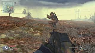 Sick MW2 Glitch (Out of the Map)