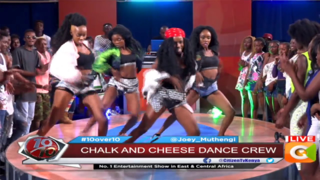 DANCE OF THE WEEK | Chalk and Cheese Dance Crew