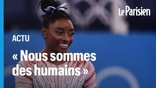 Médaille de bronze de Simone Biles à la poutre: « On devrait plus parler de santé mentale»