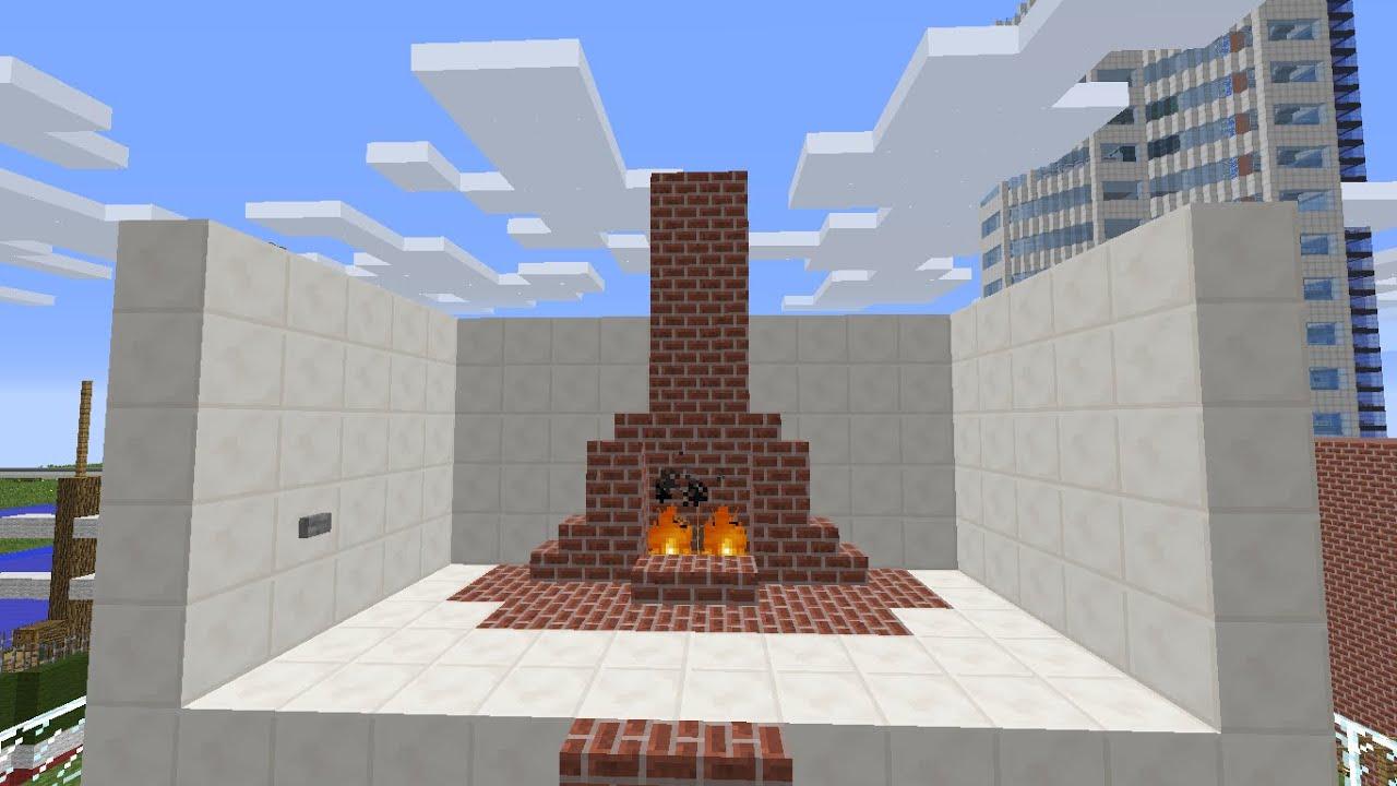 minecraft tutorial geheimgang im kamin youtube. Black Bedroom Furniture Sets. Home Design Ideas