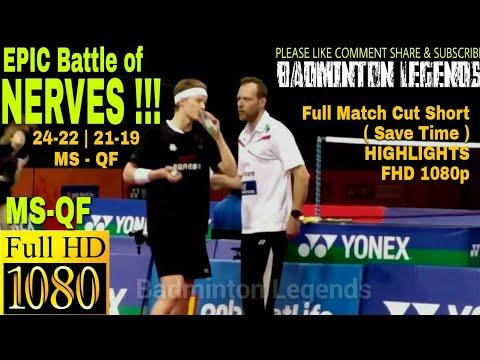 Anders Antonsen-Sameer Verma CRAZY MATCH MS-QF |Young Badminton Talent| 2017 BWF INDIA OPEN World S
