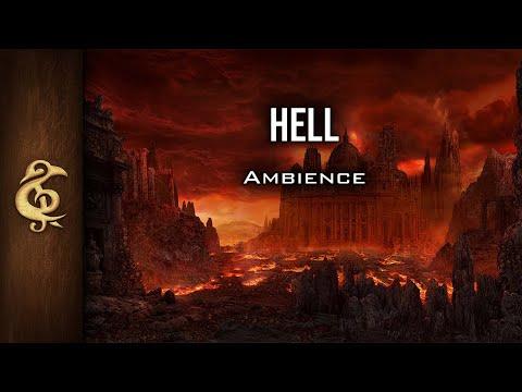 🎧 RPG / D&D Ambience - Hell | Cries, Agony, Despair, Demons, Devils, Magma, Avernus