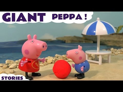 Peppa Pig English Episodes NEW Compilation with Paw Patrol Toys and Thomas & Friends Family Fun TT4U