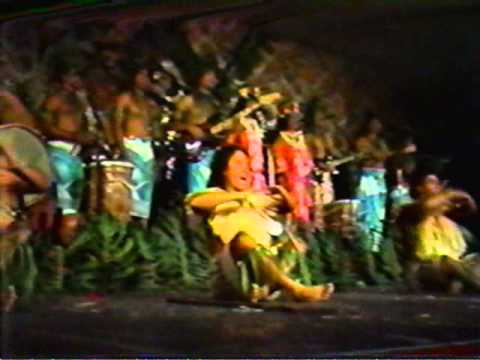 Malala's Roots of Ancient Polynesia +/-1980 Waikiki, Hawaii