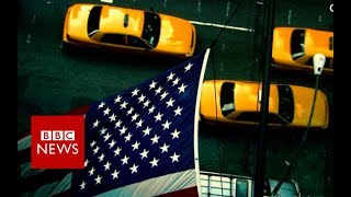 Inside New York's taxi 'crisis' - BBC News