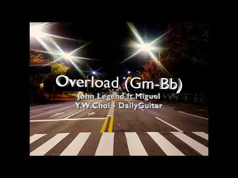 Overload - John Legend Ft.Miguel Cover Backing Track (Gm - Bb)