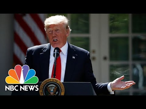 President Trump, Spanish Prime Minister Mariano Rajoy Hold Joint Press Conference (Full) | NBC News