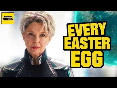 Captain Marvel - All Easter Eggs