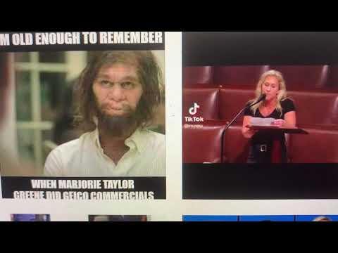 Marjorie Taylor Greene Focus Of Largest Number Of Negative Instagram Posts Of Any Congressperson - Vlog