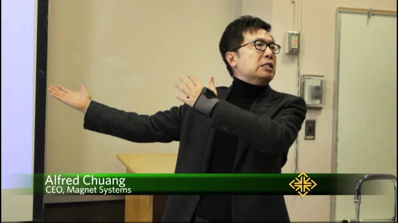 Alfred Chuang on Computer Science Night at USF [talk] - YouTube