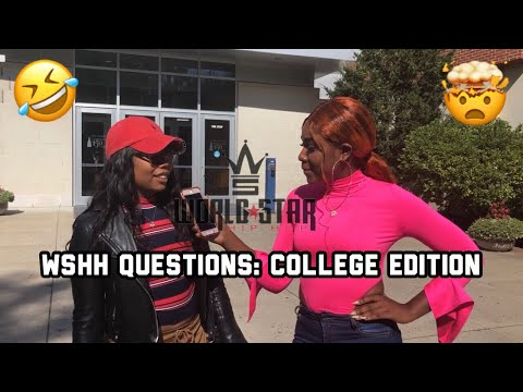 WSHH Questions: College Edition 😬😂| New Jersey | *CRAZIEST ANSWERS MUST WATCH* | A TheJawn