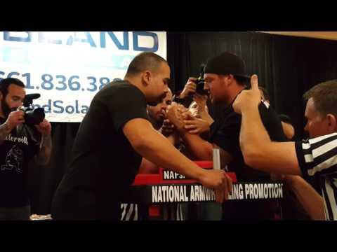 Herman Stevens vs Scott Warren (100 kg final) @ 911 Classic Armwrestling 2016