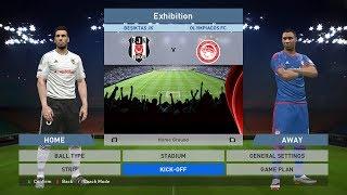 Besiktas JK vs Olympiacos FC, BJK Vodafone Park, PES 2016, PRO EVOLUTION SOCCER 2016, Konami, PC