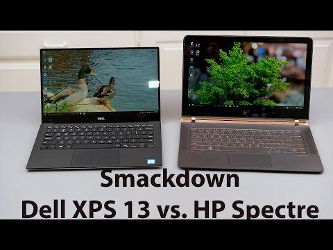 HP Spectre vs. Dell XPS 13 Comparison Smackdown