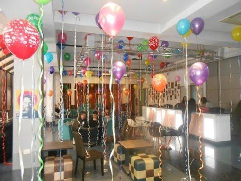 гелевые шары на день рождения с доставкой Алматы