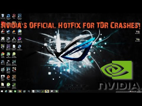 Nvidia's Official HotFix (353 38) For TDR Crashes!
