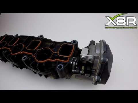 Audi 2.0 TDI Inlet Aluminium Manifold Flap Actuator Motor V157 Bracket P2015