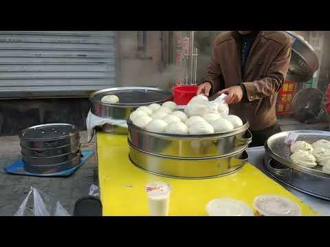 morning market in Yanji, China