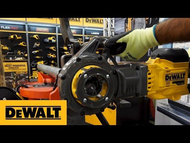 #NECA19: Introducing The DEWALT FLEXVOLT® 60V MAX* Cordless Pipe Threader