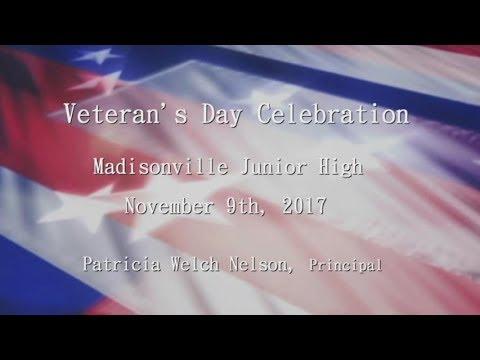 Madisonville Junior High School - Veterans Day Celebration