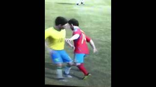 They kiss on fifa 12