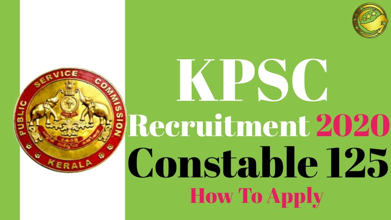 KPSC Recruitment 2020 -10th Candidates Apply Online For ...