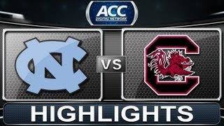 2013 ACC Football Highlights | North Carolina vs South Carolina | ACCDigitalNetwork