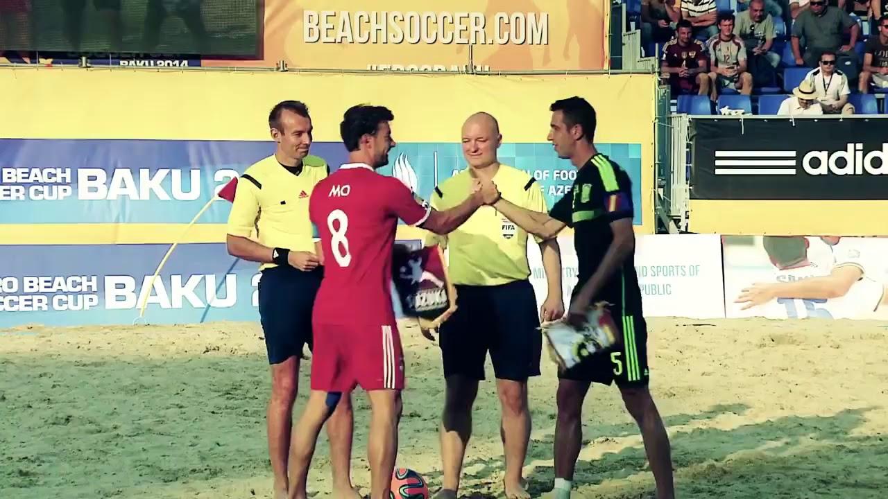 Пляжная футбольная Лига Европы в Баку