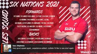 Wales Six Nations squad announcement
